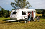 The Walk-A-Bout 620ST from Exclusive Caravans is made in China.