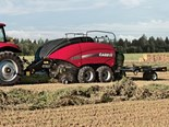 Case IH's new LB4 series large square balers are redesigned for style and function and is more efficient than previous models.