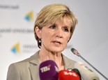 Australia Foreign Minister Julie Bishop is 'disappointed' by Russia's ban on Australian food imports