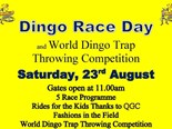 Dingo race day 2014