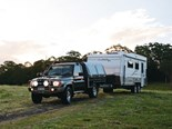The Outback RVs Overlander caravan ready for action.
