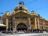 The iconic Flinders Street Station, Melbourne