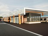 A conceptual image of the new Upper Hutt station