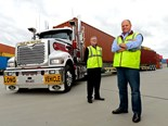 Scott Wettenhall (right) says it's container business as usual