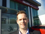 Colin Muir is the new general manager of Isuzu.