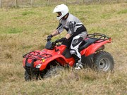 Honda TRX420 and 500 quads