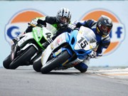 Granddad takes big Superbike race