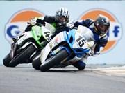 Granddad takes big Superbike race