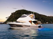 Riviera 53 Flybridge test