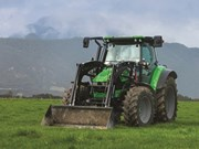 It couldn't come to us in time so we went to it. Tom Dickson checks out the brand new Deutz-Fahr 5130 TTV from the 5 series in Maruia, New Zealand.
