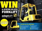 Win a Hyster Forklift Competition