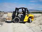 New Bomaq all-terrain forklift arrive in Australia