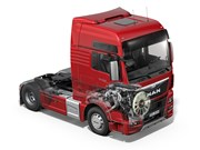 MAN's new D38 15.2 litre engine will be unveiled at the 2014 Hannover IAA show in September.