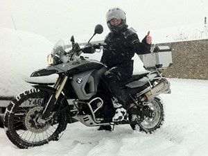 Winter motorcycle riding guide