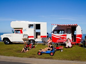 Chevrolet camper and caravan