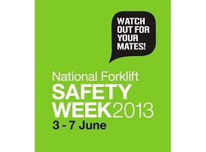 The National Forklift Safety Week will happen on June 3-7 this year.