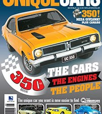 New mag out - win a 350-cube V8!