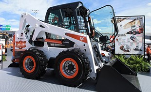 "The ""Millionth Unit"" edition of the Bobcat S650 skid-steer loader."