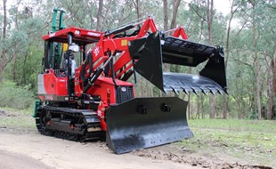 NFM's Steve Kealy checks out the Aussie-designed and China-made Hanmey MD-50 MKII Tracked Tractor.