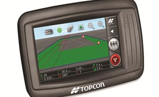 Topcon's newest release, the entry-level X14 console is aimed at customers new to precision farming.