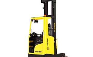 Hyster new reach truck range offers lower operating costs, better manoeuvrability and better performance in the warehouse.