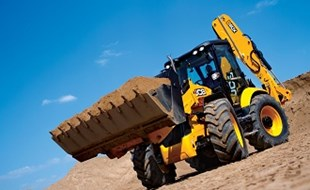 JCB's 5CX backhoe loader is the brand's biggest yet and is designed to carry out the biggest and widest range of tasks.