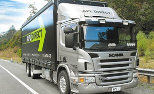 The Scania P380 meets Euro 5 emission standards.