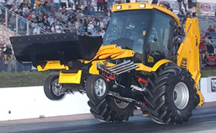 The JCB GT Backhoe is travelling to Australia to set the world speed record for the fastest earthmover.
