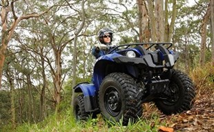 Yamaha Grizzly ATV review