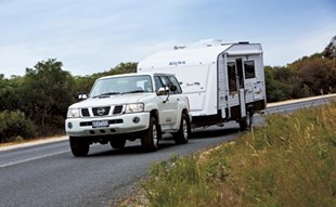 The Roma Punto is a single-axle caravan that combines an attractive price with a compact but very liveable design.