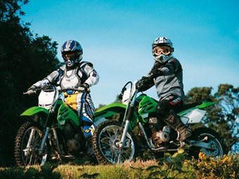 Kawasaki KLX140 Review