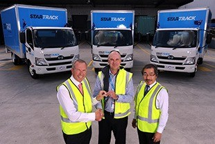 Hino delivery for StarTrack