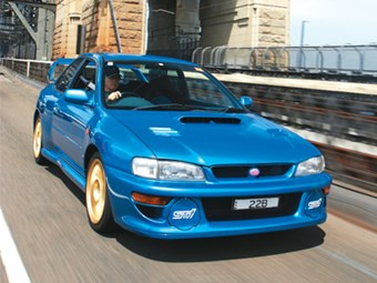 Subaru WRX STi-22B (1999) Review