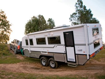 Review: Bushtracker custom offroad caravan
