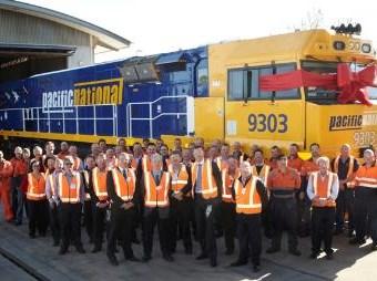 Pacific National boasts new UGL locomotives