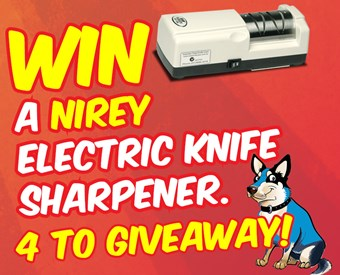 Win 1 of 4 Nirey Sharpeners