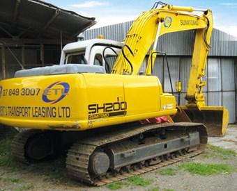 Sumitomo SH200-3 excavator