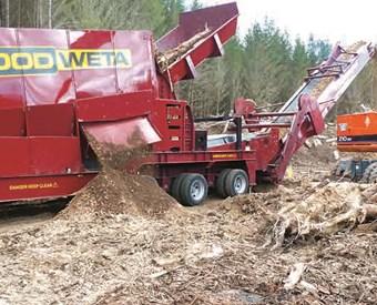 Wood Weta wood hogger