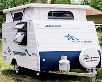 Review: Jayco Starcraft caravan