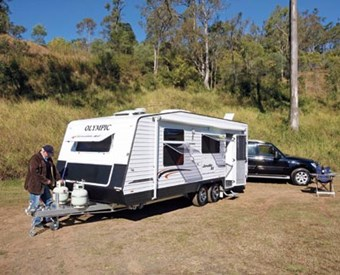 OLYMPIC JAVELIN XL CARAVAN REVIEW