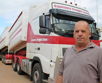 WA grain truck movements boom