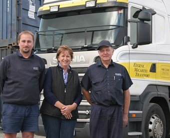 Eugene McCarthy Transport thrives in Tasmania