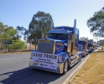 Canberra Convoy For Cancer Families a huge success