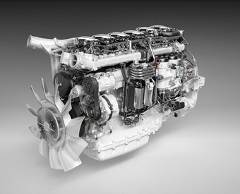 Scania unveils Euro 6 engine