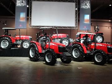 "Massey Ferguson Global Series utility tractors feature ""clean sheet"" design"