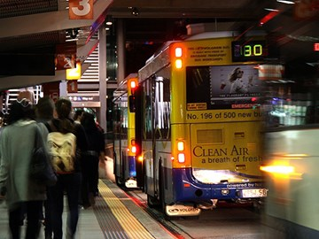 Commuters decide on QLD public transport