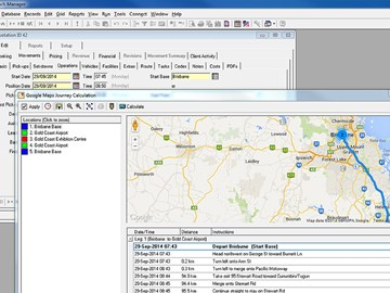 Google maps integration in management system Australia first