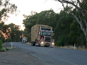 Fuel donation helps hay runners