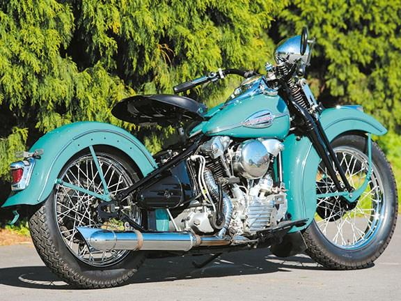 Harley Davidson Knucklehead Classic Motorcycle