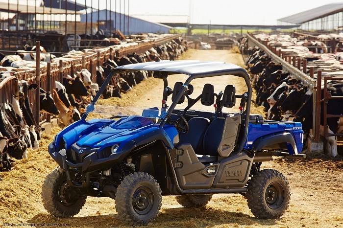 Yamaha motor australia unveils three seater off road for Yamaha viking 3 seater